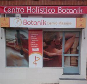 Entrada centro de masajes